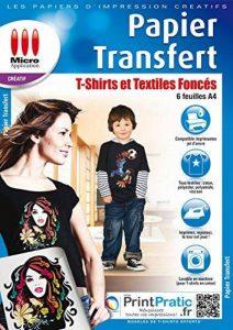 Papier Transfert pour Textiles de Couleur de la marque Micro Application image 0 produit