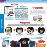 Papier Transfert pour Textiles de Couleur de la marque Micro Application image 1 produit