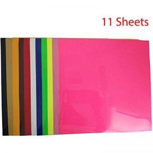 papier transfert pour textiles de couleur TOP 10 image 0 produit