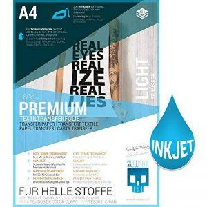 papier transfert textile blanc TOP 8 image 0 produit