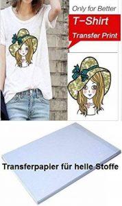 papier transfert textile hp TOP 10 image 0 produit