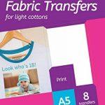 papier transfert textile hp TOP 8 image 2 produit