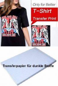 papier transfert textile sombre TOP 12 image 0 produit