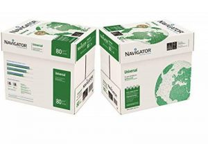 Papier universel A4 - 80g/m² - Navigator 10x Reams (5,000 Sheets) - 2x Box de la marque The Navigator Company image 0 produit
