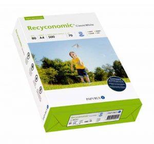 Papyrus 88031811 Recyconomic ClassicWhite Paquet de 500 feuilles de papier multifonctions format A4 grammage 80g/m² (Blanc) (Import Allemagne) de la marque Papyrus image 0 produit