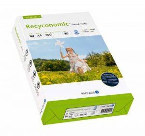 Papyrus 88031824 Recyconomic TrendWhite Paquet de 500 feuilles de papier multifonctions format A4 grammage 80g/m² (Blanc) (Import Allemagne) de la marque Recyconomic image 0 produit