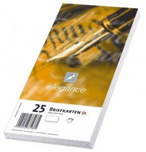 Papyrus Enveloppes Cartes EcoClassic Elegance, DL, 110x 220mm, blanc, 260g, Lot de 25 de la marque Papyrus image 0 produit