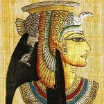 Papyrus parchemin égyptien Pharaon Tête Multicolore-40,6cm (40cm) Taie d'oreiller Housse de coussin de la marque Cushions Corner image 1 produit