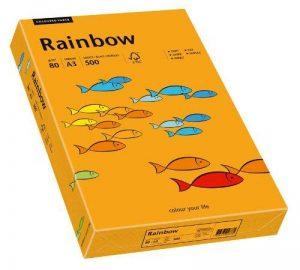 Papyrus Rainbow 88042434 A3 Papier Multi-usages 80 g/m ² 500 feuilles Orange de la marque Papyrus image 0 produit