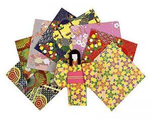 Paquet en papier origami de style japonais de 72 pièces - 14,5x14,5 cm de la marque Black Temptation image 0 produit