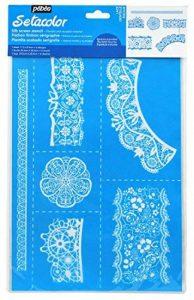 Pébéo 62145 Pochoir Textile Réutilisable Format Din A4 Couleurs Assorties de la marque Pébéo image 0 produit