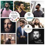 Peigne Pochoir Barbe Homme par Sapiens - Accessoire de Rasage et d'Entretien de Contour de Barbe + Guide d'Utilisation Imprimé + Ebook Offert de la marque Sapiens image 6 produit