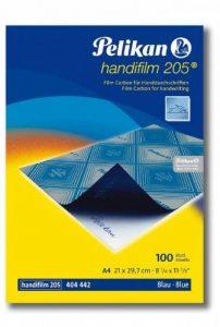 Pelikan Boîte de 100 films Bleues carbone A4 Handifilm pour écriture Noir de la marque Pelikan image 0 produit