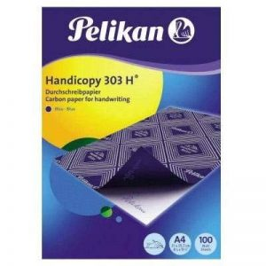 Pelikan Pack de 100 feuilles de papier carbone A4 (Bleu) de la marque Pelikan image 0 produit