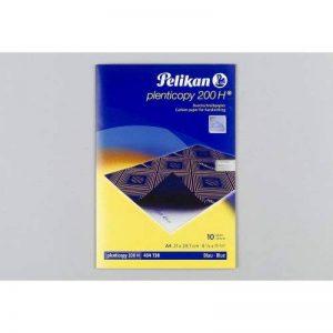 PELIKAN Pochette de 10 feuilles Papier Carbone Plenticopy 200H Bleu de la marque Pelikan image 0 produit