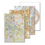 PEPIN PRESS Plan de Ville Set de Correspondance A5 40 feuilles/enveloppes de la marque PEPIN PRESS image 4 produit