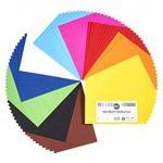 perfect ideaz 100feuilles de carton photo A5, carton de bricolage, teinté dans la masse, en 10coloris différents, grammage 300g/m², feuilles à qualité élevé de la marque perfect ideaz image 2 produit
