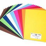 perfect ideaz 30feuilles de carton photo A3, carton de bricolage, teinté dans la masse, en 10coloris différents, grammage 300g/m², feuilles à qualité élevé de la marque perfect ideaz image 2 produit