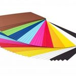 perfect ideaz 50feuilles A4 de carton photo, de carton de bricolage, teinté dans la masse, en 10coloris différents, grammage 300g/m², feuilles à qualité élevé de la marque perfect ideaz image 1 produit
