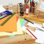 perfect ideaz Lot de 50 feuilles de papier couleur au format A3, Papier couleur teinté dans la masse, Noir, 130 g/m², papier de bricolage de haute qualité de la marque perfect ideaz image 5 produit