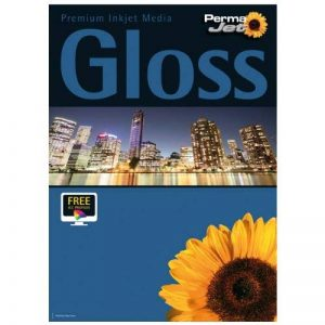 PermaJet 50805 Gloss 100 feuilles de papier brillant à séchage instantané 271 g/m² 18 x 12 cm de la marque Permajet image 0 produit