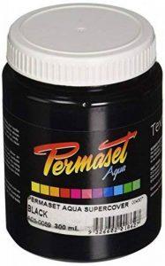 Permaset Aqua Supercover Encre à sérigraphie 300 ml Noir de la marque Permaset image 0 produit