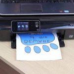 Photo paper direct inkjet de papier report à repasser sur des t-shirts clairs-blue grid a3 premium 10 feuilles de la marque PPD image 2 produit
