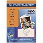 Photo Paper Direct PPD-51-ENV-20A4jet d'encre A4 papier carte de voeux avec enveloppe (lot de 20) de la marque Photo Paper Direct image 1 produit