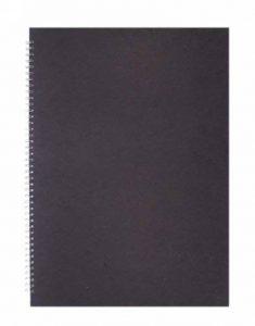 Pink pig carnet de notes, format a3, papier blanc couverture posh silk pig carnet de croquis format noir de la marque Pink Pig image 0 produit