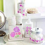 Plaid Martha Stewart adhésifs pochoirs 2 feuilles/Pkg-fleurs 5-3/4 X 7-3/4 19 dessins de la marque Plaid image 2 produit