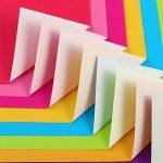 Pllieay 150feuilles simple face pour origami, 3tailles 50couleurs vives papier origami pour DIY Bricoler, arts et travaux manuels projets de la marque Pllieay image 4 produit
