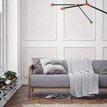 PLUIE DE DIAMANT Mur Meubles Sol Pochoir Pour Peinture - Meubles Moyen de la marque Dizzy Duck Designs image 3 produit