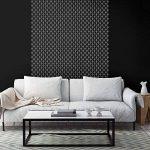 PLUIE DE DIAMANT Mur Meubles Sol Pochoir Pour Peinture - Meubles Moyen de la marque Dizzy Duck Designs image 4 produit