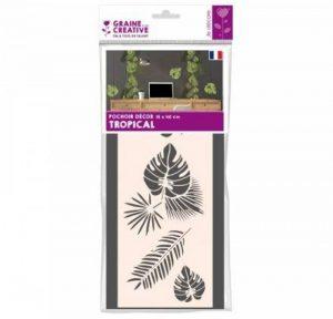 Pochoir 15x40 'Graine Créative by DTM' Tropical de la marque Graine Créative by DTM image 0 produit