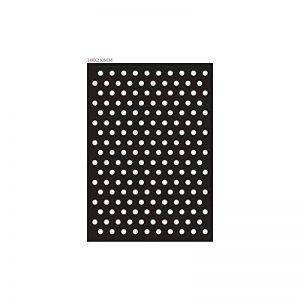Pochoir adhésif pois / baroque A5 2 motifs - Rayher de la marque Rayher image 0 produit