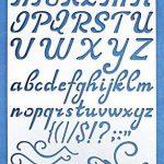 pochoir alphabet metal TOP 10 image 2 produit