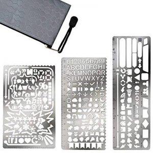 pochoir alphabet metal TOP 6 image 0 produit