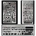 pochoir alphabet metal TOP 6 image 4 produit