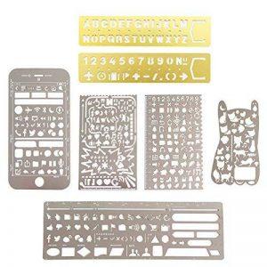 pochoir alphabet metal TOP 8 image 0 produit