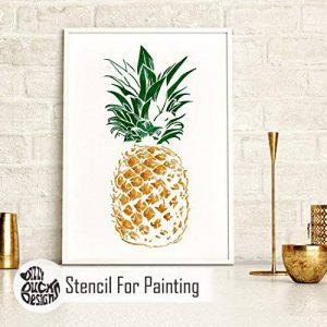 pochoir ananas TOP 7 image 0 produit