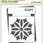 Pochoir carrelage - Taille M feuille 210x270 mm de la marque decopochoirs image 1 produit
