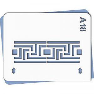 Pochoir classique - Taille S feuille 140x180 mm de la marque decopochoirs image 0 produit