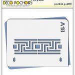 Pochoir classique - Taille S feuille 140x180 mm de la marque decopochoirs image 1 produit