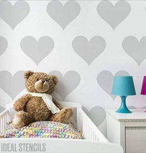 pochoir coeur pour meuble TOP 12 image 0 produit