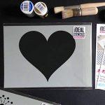 pochoir coeur pour meuble TOP 12 image 2 produit