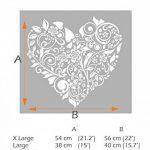 pochoir coeur pour meuble TOP 14 image 1 produit