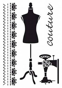 pochoir couture TOP 1 image 0 produit