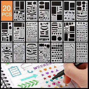pochoir écriture TOP 12 image 0 produit