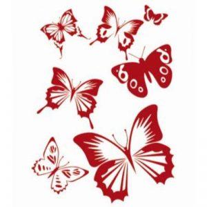 Pochoir de Peinture Murale Motif de Papillon pour Décoration de Mur de la marque Générique image 0 produit