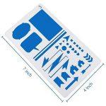 pochoir en plastique TOP 9 image 2 produit